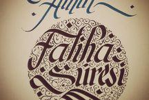 Kaligrafi / Kaligrafi, Güzel Yazı