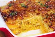 Kürbis Kartoffel gratin