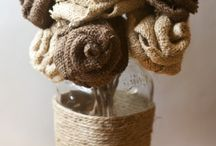 Burlap / Hessian / Because there is soooo much you can do with this material