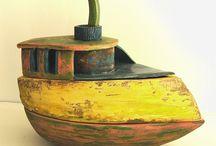 anna sztucka - art ceramics / I am exhibiting my art