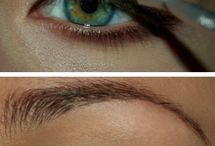 Eye make-up for blue eyes