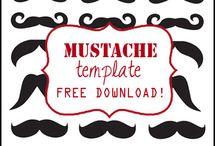 Moustache Theme