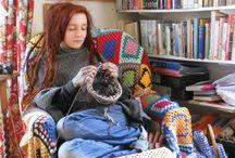 Crafty People / Who said knitting and crochet isn't glamorous?