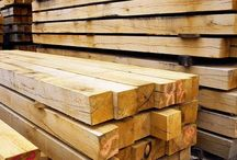 Venables Oak: Oak beams, Green, Kiln dried, Air dried / Venables Brothers is one of the few timber merchants in the UK to carry large stocks of fresh sawn (green) kiln dried and air dried oak beams.