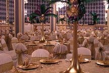 Wedding Venetian theme