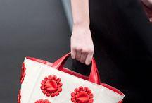 Milan Fashion Week Spring 2013 / Various handbags shown at Milan Fashion Week 2013