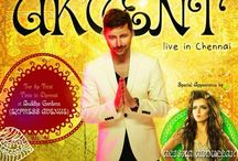 Akcent live in chennai on 16th August 2014 / Akcent live in chennai with special appearance of Aliska Abdullah on 16th August @ Buddha garden, Express Avenue.
