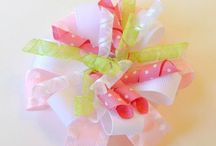 Free Hairbow Tutorials / by Whimsy Couture Sewing Patterns