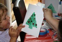 Karácsonyi képeslapok, csomagolók