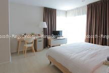 Aspire Condo in Bangkok, Close to Rama 9 / New condo, nice fresh style and good use of space. Nice to see a change from the usual white boxes of Bkk! More details at:  http://mangocondo.co.th/property/2-bed-condo-aspire-rama-9/
