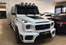 MERCEDES-BENZ G 63 AMG ARMORED B7 MANSORY GRONOS II