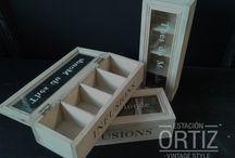 cajas de te vintage