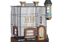 Featherstone Heights Brownstone Bird Cage / http://bird-cages-forsale.com