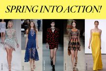 BG RADAR: Spring 2014 / Spring into action. BG.com/Radar  |  #BGRadar / by Bergdorf Goodman