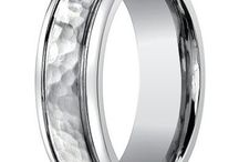 Bestselling Men's Rings from Mens-Wedding-Rings.com / At Mens-Wedding-Rings.com, the customer is always right. That's why we take note of which wedding bands are customer favorites, whether they're contemporary designs or more traditional styles. From affordable stainless steel men's rings to precious metal palladium wedding bands, here are some of MWR's bestselling styles. / by Mens-Wedding-Rings.com