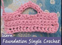 Crochet Tutorials, Tips & Techniques