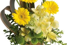 Formal flower arrangements