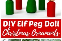 "Christmas Everything! / Come gather ideas for decorating your home for Christmas!  From DIY crafts to ""out of a magazine"" looks, you can find it all here.  To join this board message Frazzled N Frugal"