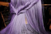 purpel hair