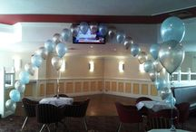Nicky The Balloon Lady / From designer gift bouquets and displays, Themed parties to bespoke wedding decoration. With years of experience Nicky can help create the room of your dreams. www.onestopweddingshopstaffordshire.co.uk