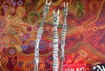JGM Art Aboriginal Sculpture / Current Australian Aboriginal sculptures in stock at JGM Art