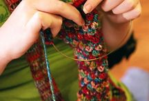 Needle Arts / crafty yarny knitty things....and more but mostly knitting / by Mira Dessy