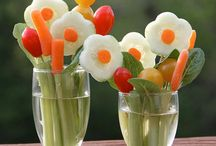 Edible.  Flowers / Veggie