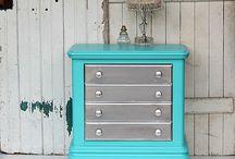 Muebles pintados DIY