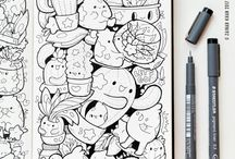 Doodles kresby