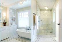 Bright Bathrooms / by Becki Hughes