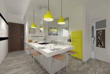 ΜΟΝΤΕΡΝΕΣ ΚΟΥΖΙΝΕΣ!!! / Κουζίνες με χρώμα!!!