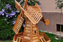 Architektura ogrodowa / Wszystkie konstrukcje są wykonywane z wyselekcjonowanego materiału stolarskiego i ciesielskiego.