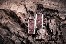 my jewelry / Silver & semi precious stone