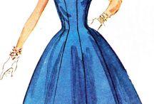 vintage dress patterns / by Gala Shaplin
