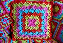 Wool Eater squares/blankets