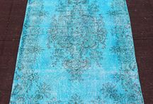OVERDYED RUGS / MY BEST COLOURFUL RUGS