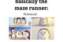 The Maze Runner / I can't describe, how much I love these books ❤ I think, they are my favorite ❤ I'M JUST A LONELY GRIEVER, IN THIS GIANT MAZE!  Favorite characters: Newt, Jorge, Brenda Favorite book: The Maze Runner The Maze Runner - book ✔, movie ✔ The Scorch Trials - book ✔, movie ✔ The Death Cure - book ✔, wait for movie