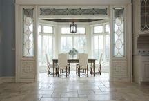 Architraves, door and window surrounds, pergolas
