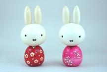 Kokeshi & Matriuska Dolls