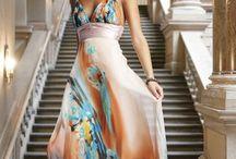 Μαξι φορέματα εμπριμέ
