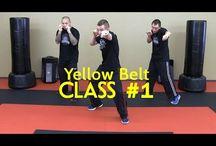 Krav Maga training /warming up / Training lessons