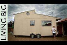 tiny home ideas = freedom / by Rachel Hernandez