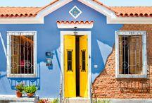 Fachadas coloridas | front facade