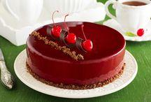 Рецепты тортов , в основном суфлейные