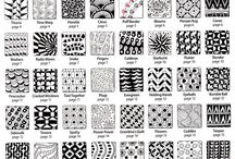 Zentangles and Patterns / Inspiration for Zentangling and Zentangle like patterns and graphic designs.