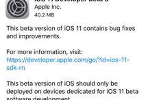Forulike آبل تطلق النسخة التجريبية التاسعة من نظام iOS 11 للمطورين والنسخة الثامنة للعامة