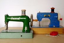 Toy Sewing Machines / by Annette Dunford