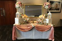 Table Swags and Decor