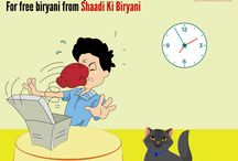 Shaadi Ki Biryani / Everyone enjoys and loves great biryani at a good wedding. SKB knows you can't be invited to every wedding, so rush to our outlets and relish their biryani.