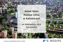 Medipe Clinic - miejsca / Firma Medipe Clinic swoją główną siedzibę ma we Wrocławiu. Rozwijamy się, tworzymy nowe oddziały, nowe miejsca dla naszych pacjentów. Na zabieg do Czech wyjeżdżamy z największych Polskich miast. zapraszamy do kontaktu!